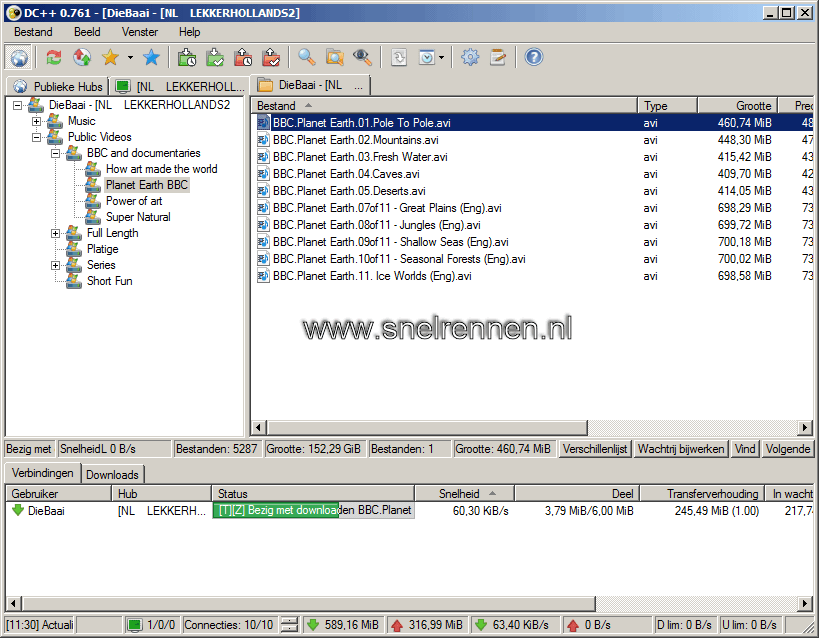 dc19 - Downloaden met Direct Connect / DC++